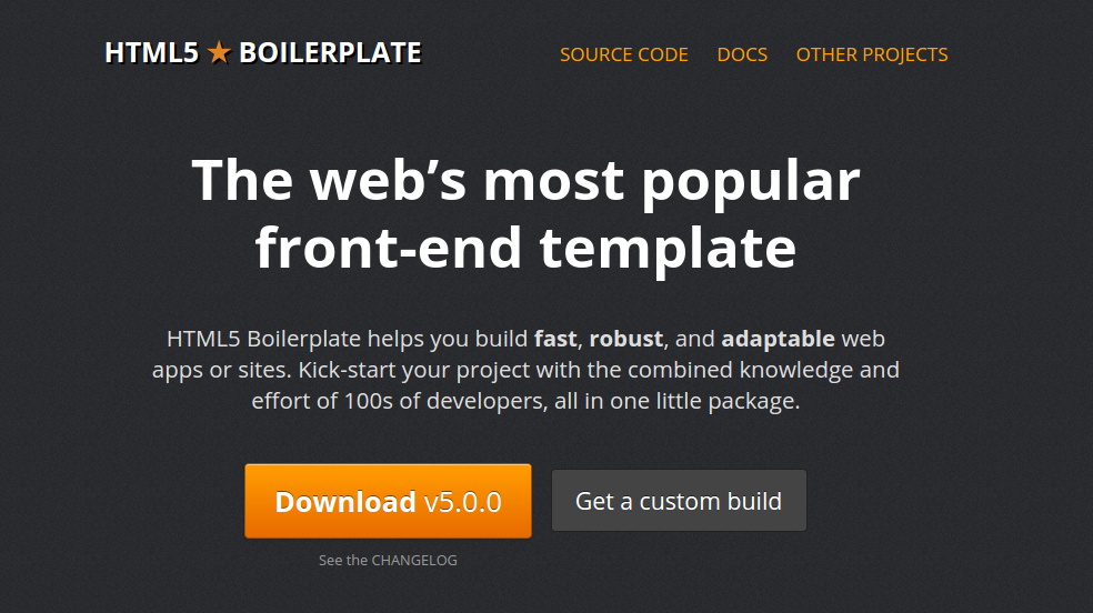 Boilerplate Screenshot